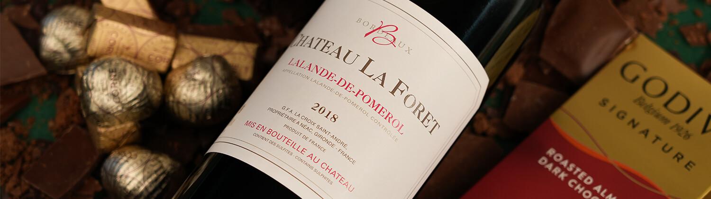 Coffrets cadeaux vin, champagne et  chocolat pour livraison en France