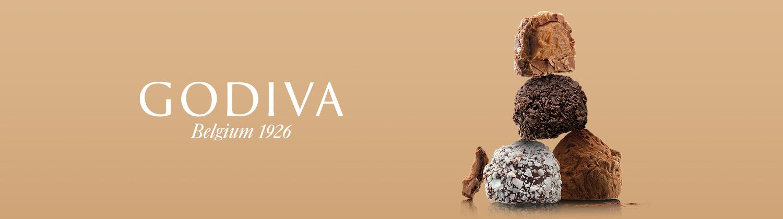 Commandez des chocolats Godiva de luxe  en ligne pour livraison en France