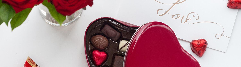 Envoi de cadeaux Saint Valentin