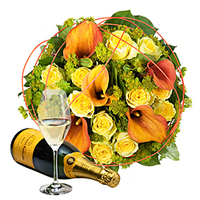 Bouquet Charme d'Or et Plus