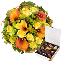 Charming Gold & Godiva Chocolates