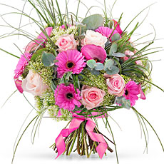 Send roses and calla lilies for a special occasion, made to order by our trained florist staff.