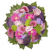 Chacun rayonne à la vue de ce bouquet animé. Il se compose de six types de fleurs fraîches des Pays-Bas, traditionnellement liées par nos fleuristes professionnels. Ce bouquet explosant de tons printaniers saura apporter lumière et couleur chez vous.