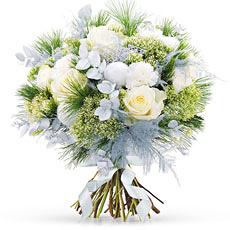 Bouquet de Noël Blanc