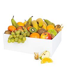 Ce grand classique, une combinaison de fruits frais dans un panier réutilisable.