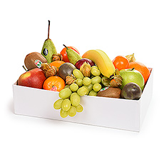 This seasonal classic, a combination of fresh fruit is always a very welcome gift.