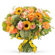 Orange Spring Bouquet