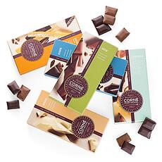 Le chocolat est la manière par excellence pour remercier ou féliciter quelquun ou pour tout simplement montrer que vous pensez à lui/elle.