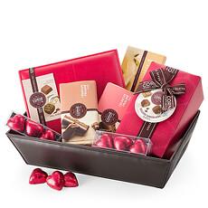 Corné Port-Royal Panier Cadeaux aux Chocolats Belges