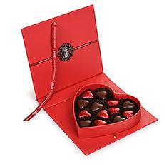 Offrez à l'élu(e) de votre coeur cette boîte sous forme de coeur.