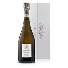 Champagne Lenoble Brut Les Aventures Coffret Cadeau, 75 cl
