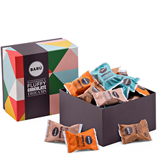 Our Barú Sweet Chocolate Marshmallow Gift Box is the perfect introduction to the sweet indulgence of Barú gourmet marshmallows.