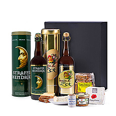 Send this wonderful Belgian gourmet food & beer gift for Father's Day, birthdays, thank you gifts, or any to make any other special occasion extra tasty!