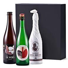 Surprenez les amateurs de produits fermiers et régionaux de Flandre occidentale avec deux bières, brassées localement, et un vin mousseux élégant.