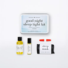 Ensure you get the perfect nights sleep with this Good Night Sleep Tight Kit.