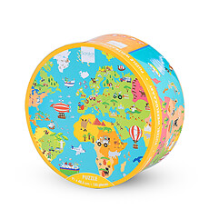 High quality 150 piece world map puzzle.