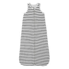 This baby sleeping bag with Petit Bateau's beloved sailor stripe will keep your baby warm and cozy during cold nights.