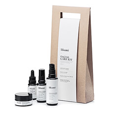 This Facial Care Kit is a perfect trial sampler into the Líkami high quality 4-step