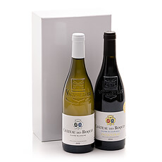 Connoisseurs of French top wines will love this wine duo Château des Roques.
