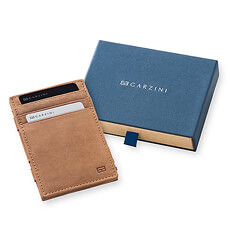 At last, the search for the perfect wallet is finished! The Garzini Magic Wallet is the perfect gift idea for men for Father's Day, birthday, Christmas, or any occasion.