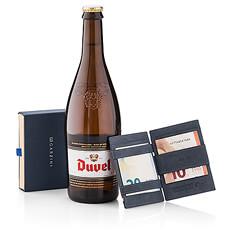 Garzini 'Magic' Wallet Black & Beer