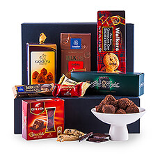 This year, our all time favorite gift offers - as it always does - a beautiful collection of chocolate treats.