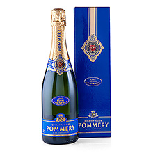 The Royal Brut is an ideal Champagne for any occasion and is stylish presented in a Pommery Gift Box.