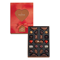 The Neuhaus Sharing Box is specially designed for lovebirds who like to share.