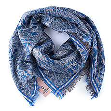This lovely blue & silver star scarf by Danish brand Beck Söndergaard will quickly become her favorite accessory.