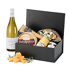 Make it a celebration with this festive wine & cheese gift!