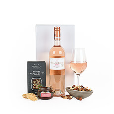 Wine Rosé & Snacks Collection