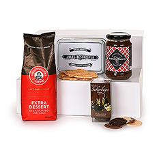 Faites-vous, vos amis, collègues ou employés plaisir avec cette fantastique boîte-café Trias, composée uniquement de produits 100 % Flandre occidentale.