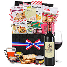 This hamper has the crème de la crème of our French originated products.