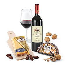 Une soirée fromage et vin fait toujours plaisir !