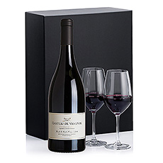 Gifts 2020 : Château de Valcombe Rouge & 2 Glasses