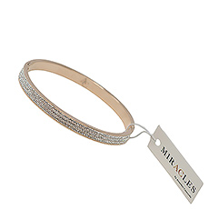 Bring a touch of glamour in her life with this amazing bracelet by Miracles.