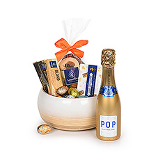 Gifts 2020 : Easter Bowl With Champagne