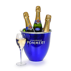 Gifts 2020 : Pommery Ice Bucket With Champagne