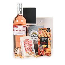 Summertime Rosé Wine Magnum & Snacks