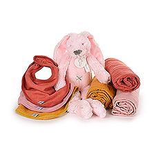 Lässig Set Blanket Large, Bandana & Happy Horse Cuddle Baby Girl