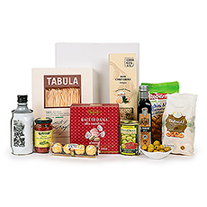 Whip up a feast with linguine, extra virgin olive oil, balsamic vinegar, pimento-stuffed olives, porcini risotto, arrabiitata sauce, and more!