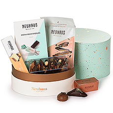 This new Neuhaus Belgian chocolate gift is perfect for any spring occasion, including Mother's Day, birthdays, and thank you gifts. A lovely spring ballotoeuf gift box is packed with a wonderful sampler of Neuhaus treats.