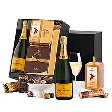 Deluxe Chocolade Godiva & Champagne