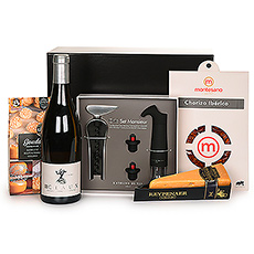 Gifts 2021 : Atelier Du Vin Set, Claux White Wine & Snacks