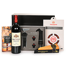 Bordeaux Wine & Cheese Connoisseur Gift Set