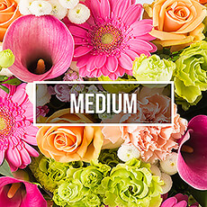 Fleurs abonnement Medium