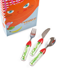 BUGATTI Tweet Cutlery Set for Children