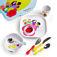 Bugatti Bloom Dinner Set for Children