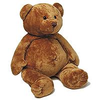 Voici un petit ours extrêmement doux et très mignon. Cadeau idéal pour une naissance, il deviendra sans aucun doute le meilleur compagnon de votre nouveau-né.