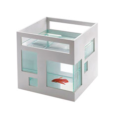 Choose for our Design Fish Hotel and forget about the old fashioned aquariums!